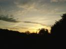 Sonnenuntergang über Hochstedt