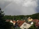 Regenbogen über Hochstedt - 07.07.2008