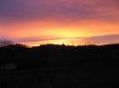 Sonnenaufgang über Hochstedt - 11.01.2007