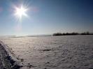 Flachstehende Sonne