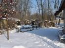 Quelle im Schnee